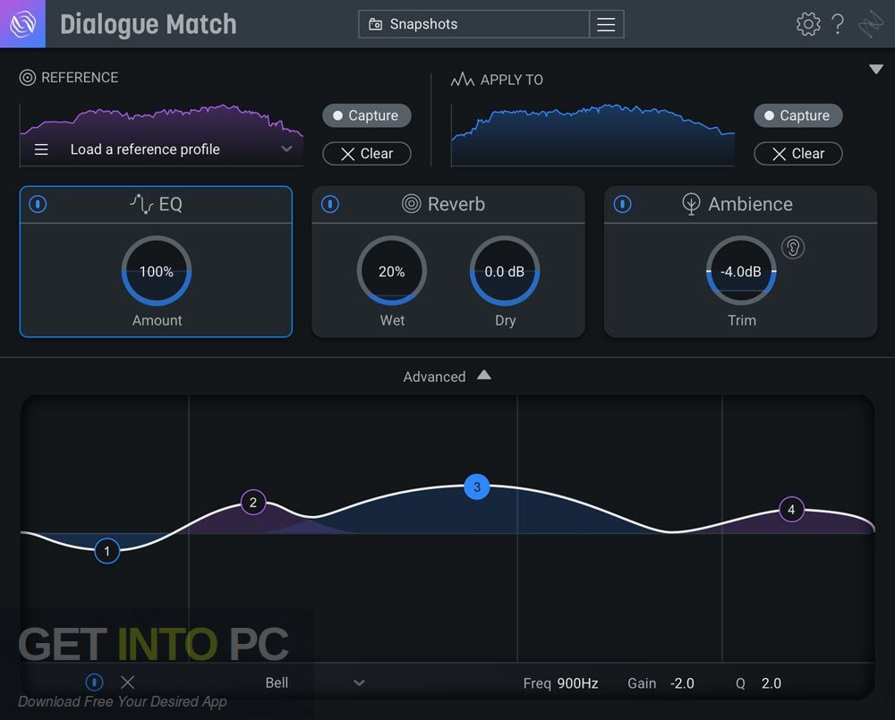 iZotope - Dialogue Match AAX DIrect Link Download-GetintoPC.com