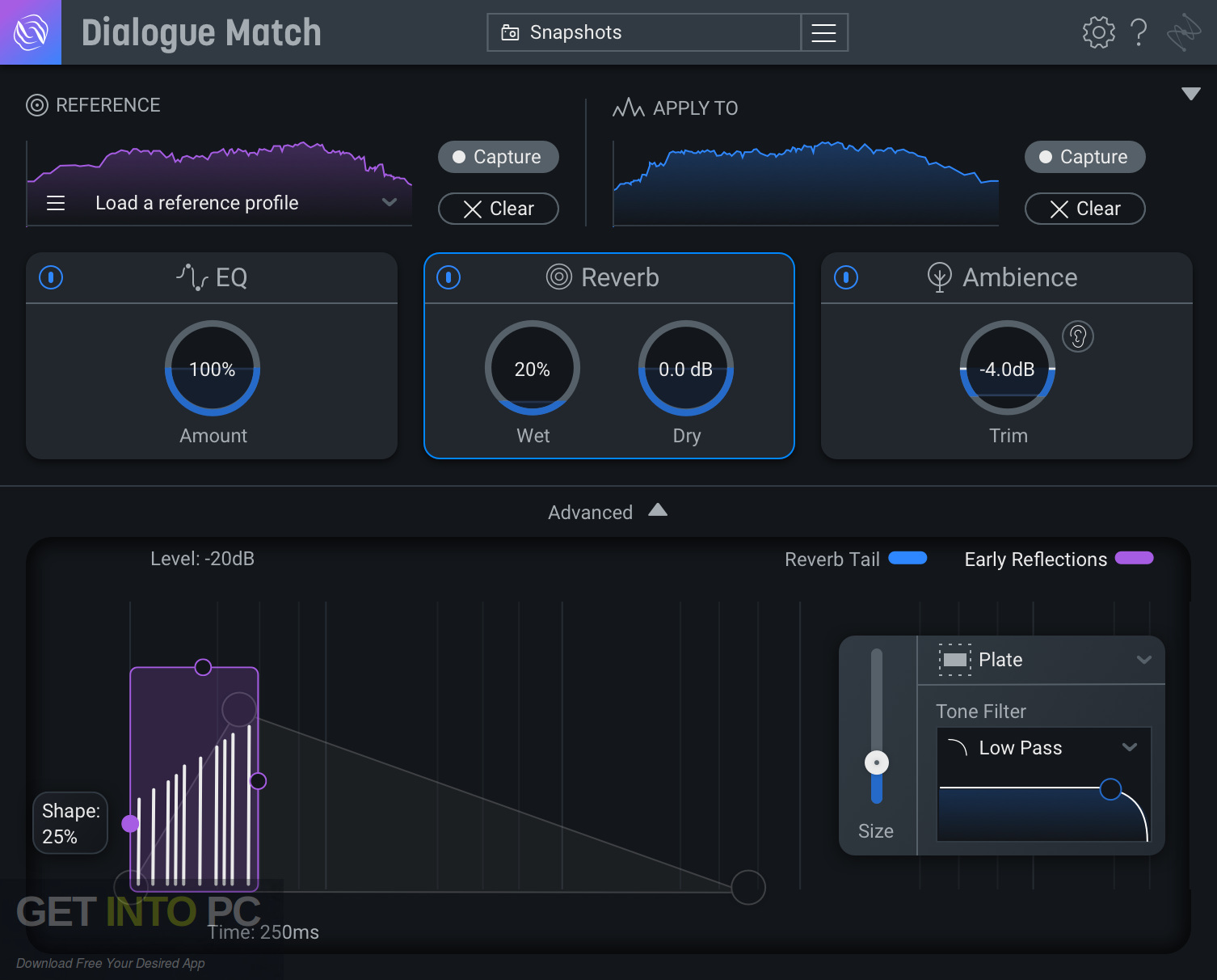 iZotope - Dialogue Match AAX Offline Installer Download-GetintoPC.com