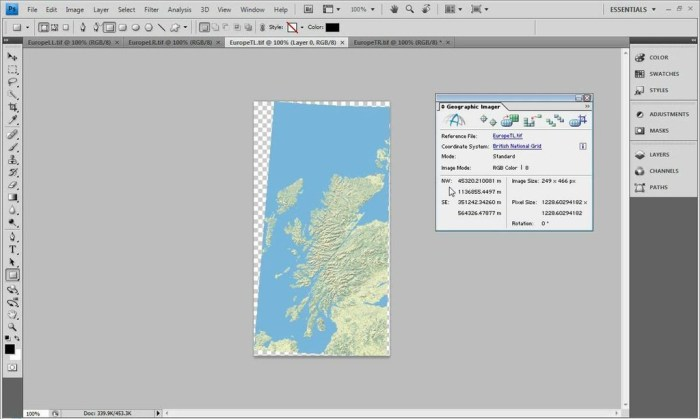 Avenza Geographic Imager for Adobe Photoshop 6.1 Latest Version Download