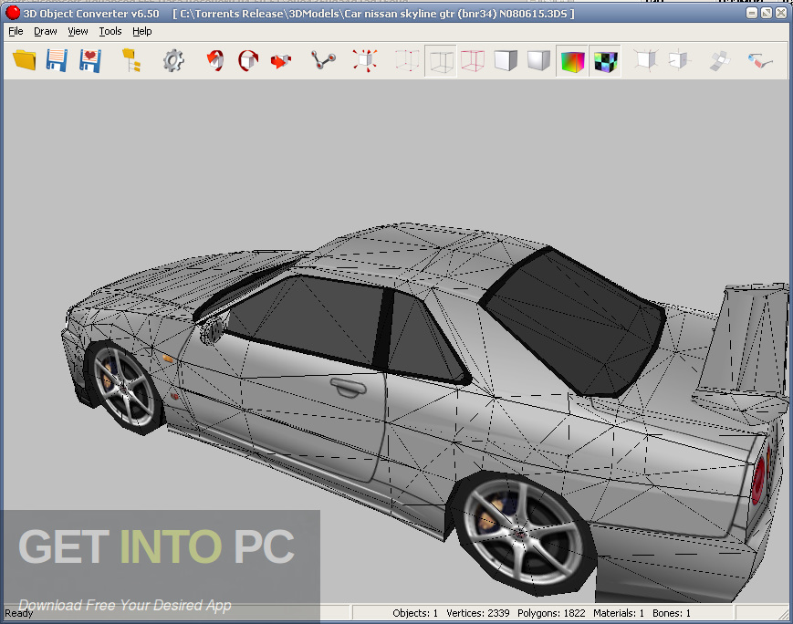 3D Object Converter Direct Link Download-GetintoPC.com