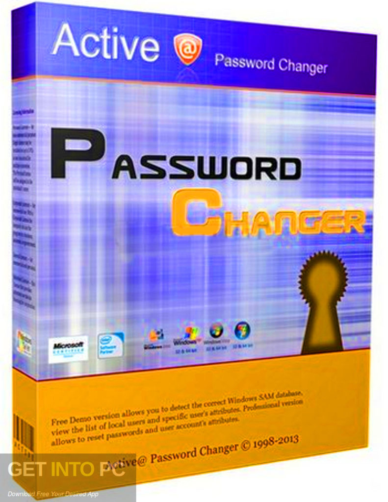 Active Password Changer Professional Free Download-GetintoPC.com