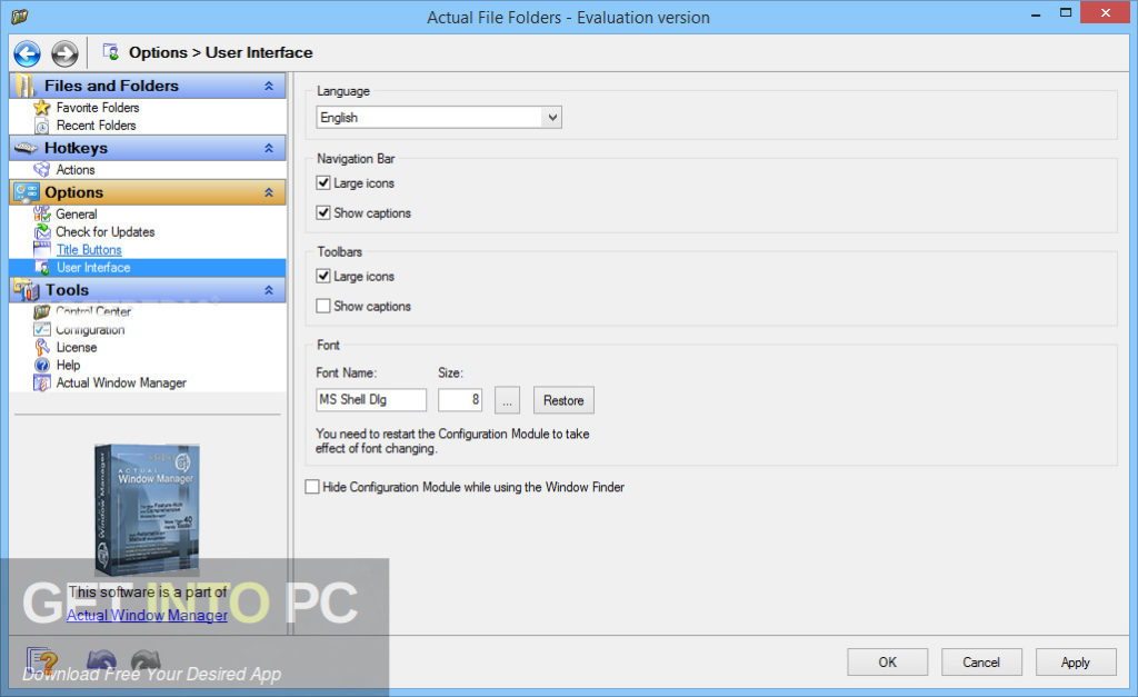 Actual File Folders Offline Installer Download-GetintoPC.com