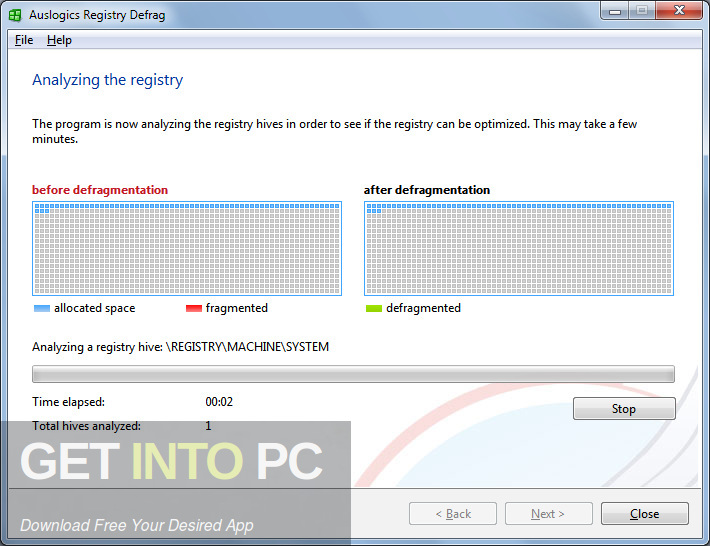 Auslogics Registry Defrag Offline Installer Download-GetintoPC.com