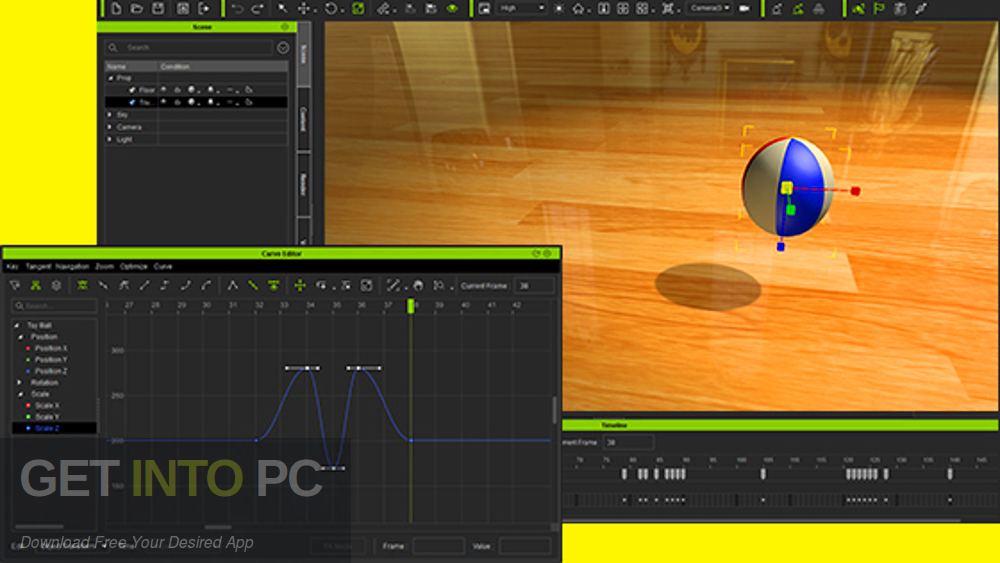 Curve Editor Plug-In for Reallusion iClone 7 Latest Version Download-GetintoPC.com