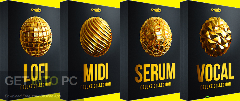 Cymatics - Black Friday Deluxe Bundle (MIDI, WAV, SERUM) Free Download-GetintoPC.com