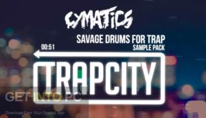 Cymatics - Savage Drums For Trap: Gold Edition (WAV, MIDI) Offline Installer Download-GetintoPC.com