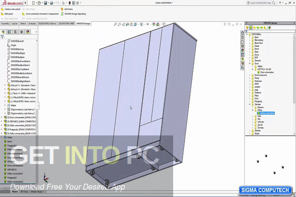 EFICAD SWOOD 2020 for SOLIDWORKS Offline Installer Download