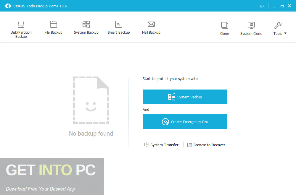 EaseUS Todo Backup Home Latest Version Download-GetintoPC.com