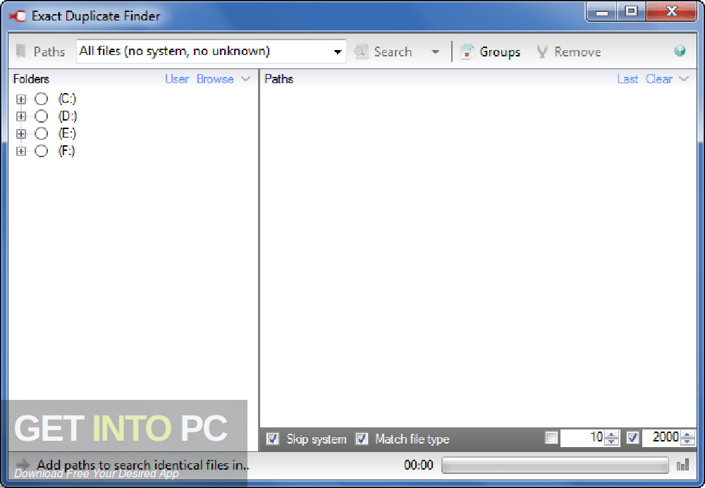 Exact Duplicate Finder Offline Installer Download-GetintoPC.com