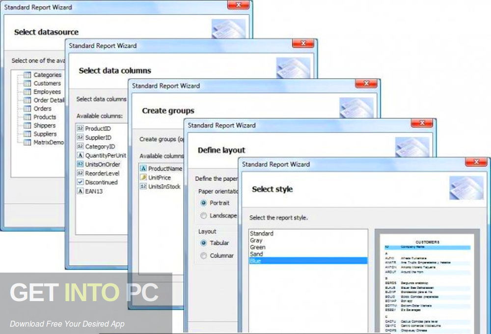 FastReport .NET 2019 Offline Installer Download-GetintoPC.com