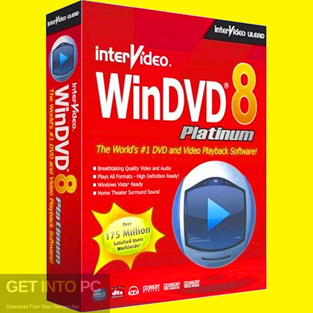 Intervideo WinDVD Platinum 8 Free Download-GetintoPC.com