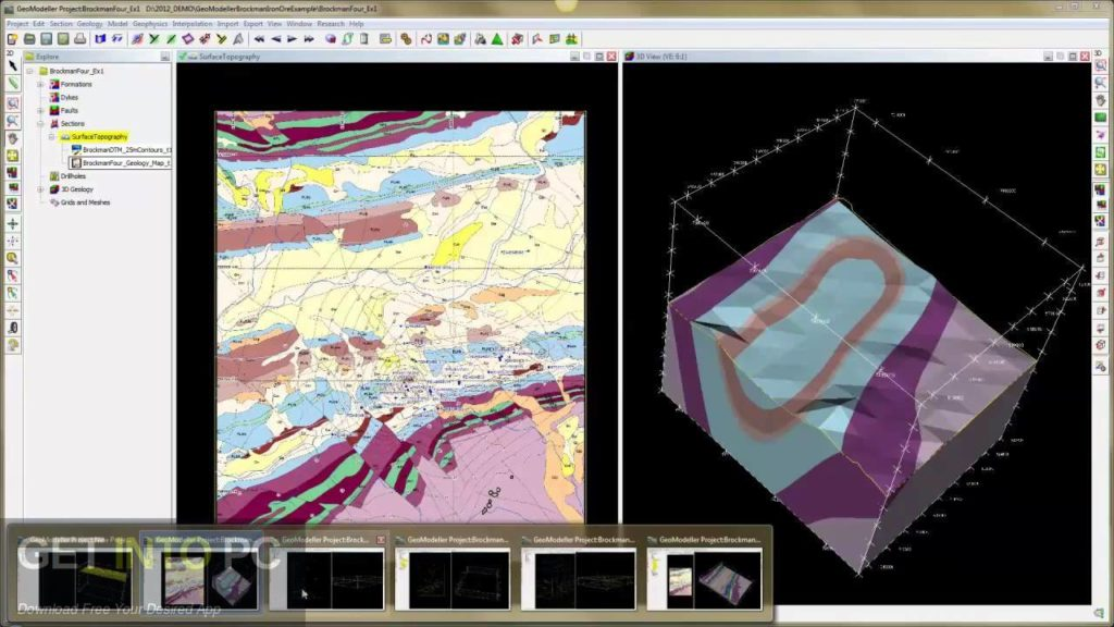 Intrepid Geophysics GeoModeller 2014 Direct Link Download-GetintoPC.com