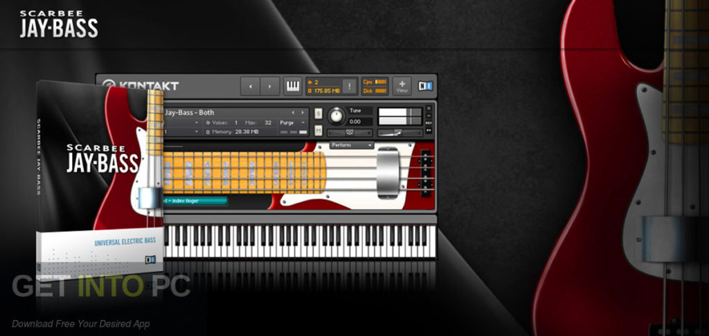 Native Instruments - Scarbee Jay-Bass KONTAKT Free Download-GetintoPC.com
