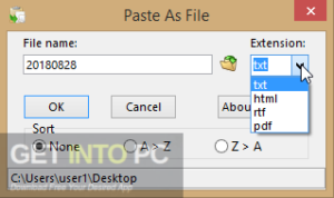 Paste As File Direct Link Download-GetintoPC.com