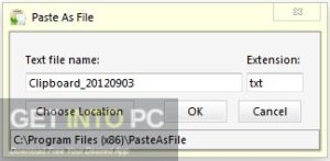Paste As File Offline Installer Download-GetintoPC.com