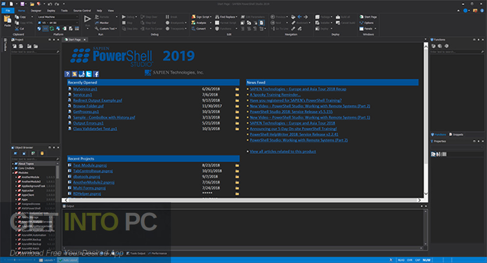 PowerShell Studio 2019 Latest Version Download-GetintoPC.com