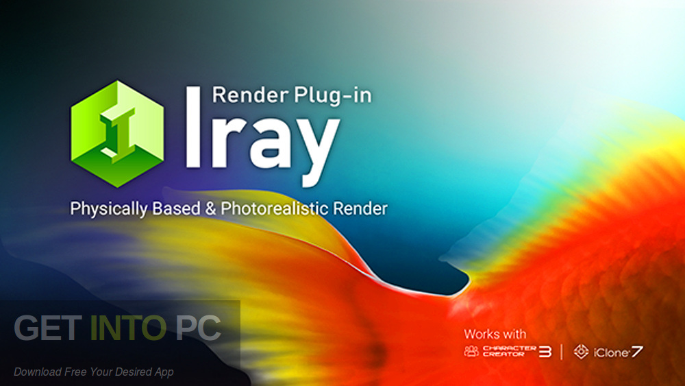 Reallusion Iray Render Plug-in for Character Creator Free Download-GetintoPC.com