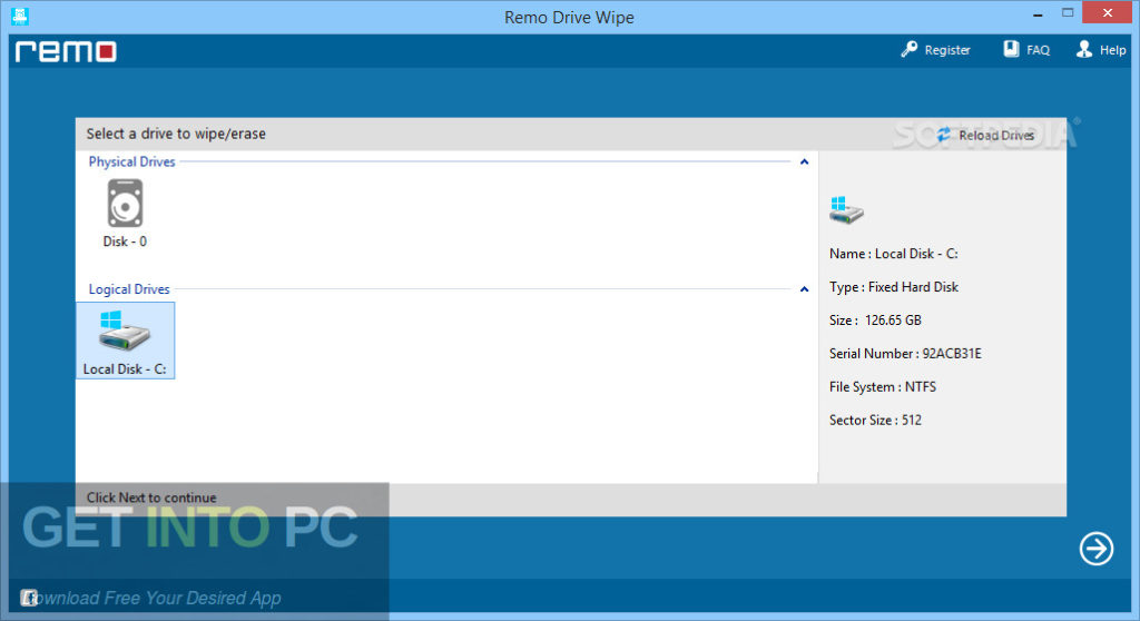Remo Drive Wipe Offline Installer Download-GetintoPC.com
