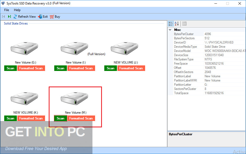 SysTools SSD Data Recovery Latest Version Download-GetintoPC.com