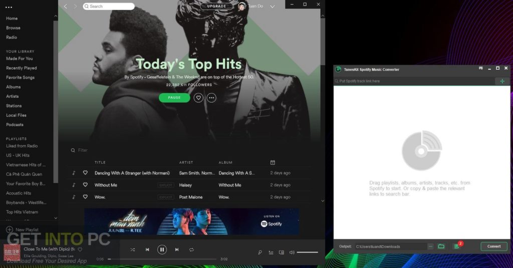 TunesKit Spotify Music Converter Offline Installer Download-GetintoPC.com