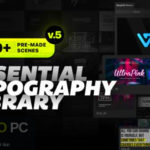 VideoHive – Essential Titles and Lower Thirds Free Download