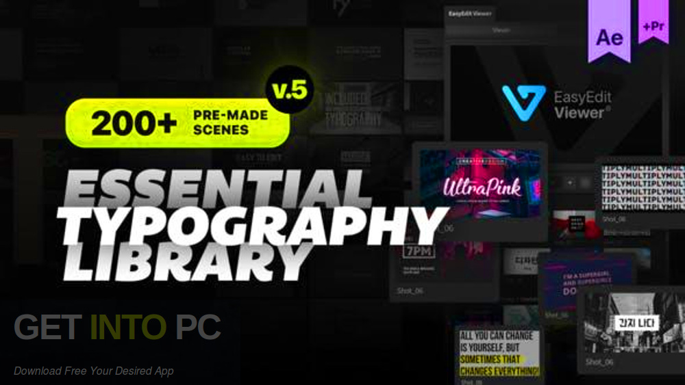 VideoHive - Essential Titles and Lower Thirds Free Download-GetintoPC.com