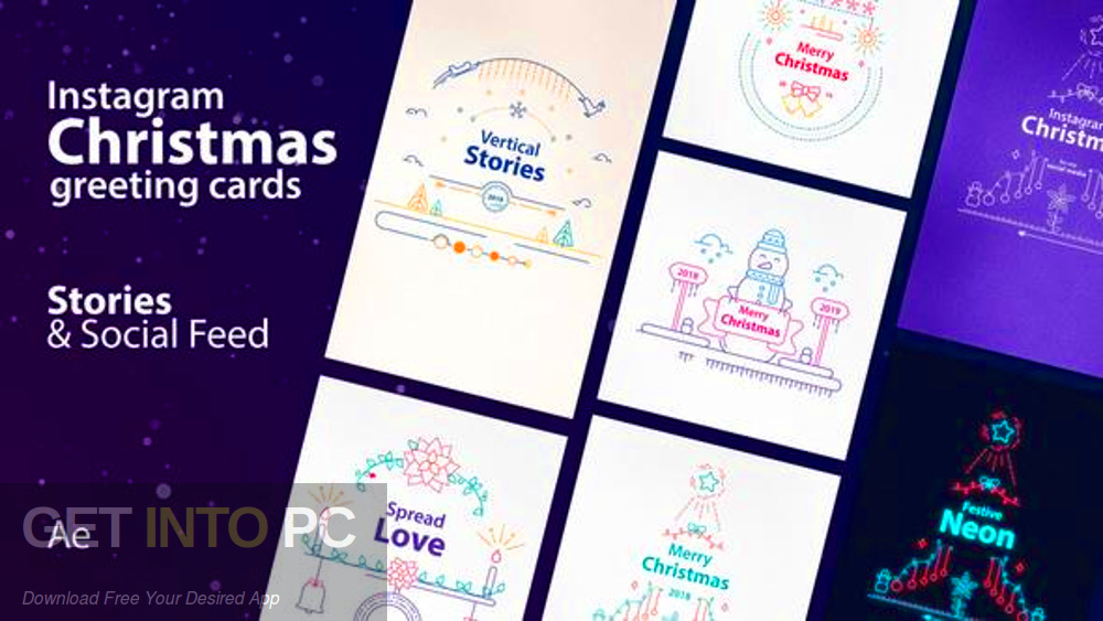 VideoHive - Instagram Christmas Free Download-GetintoPC.com