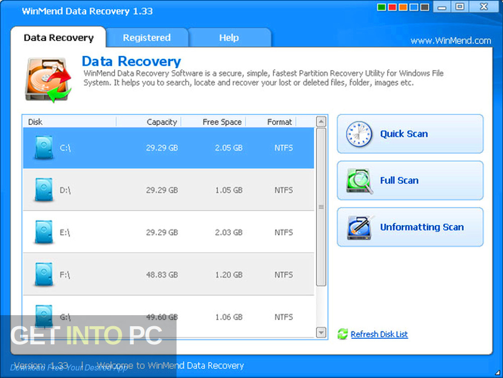 WinMend Data Recovery Offline Installer Download-GetintoPC.com
