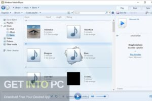 Windows Media Player 11 Free Download-GetintoPC.com