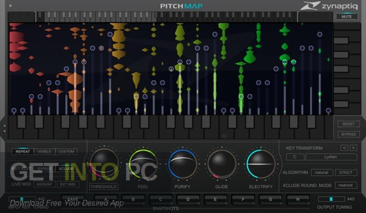Zynaptiq - PITCHMAP VST Latest version Download-GetintoPC.com