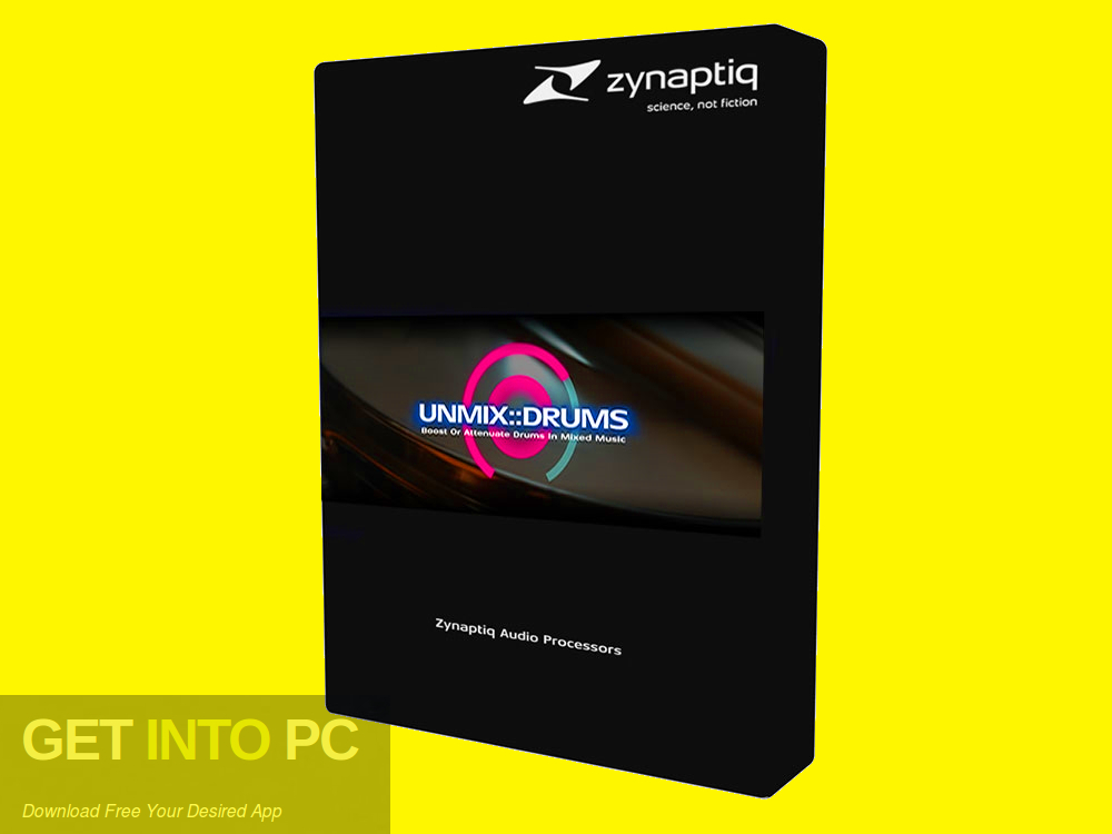 Zynaptiq - UNMIX DRUMS VST Free Download-GetintoPC.com