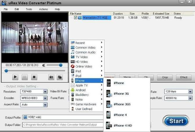uRex Video Converter Platinum Offline Installer Download