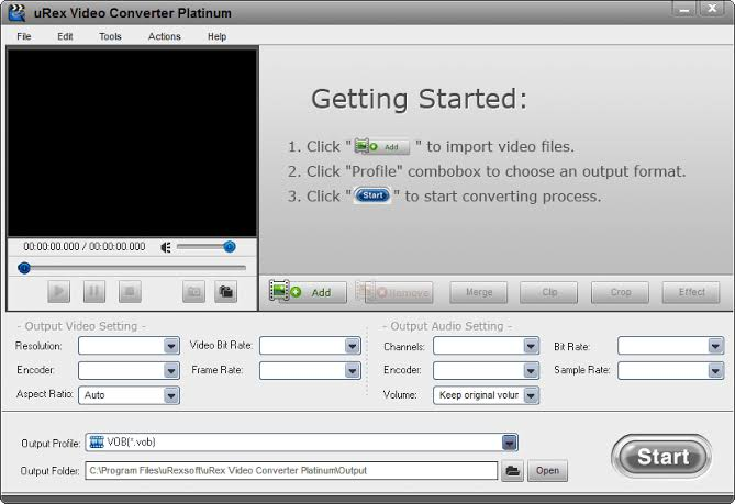 uRex Video Converter Platinum Latest Version Download
