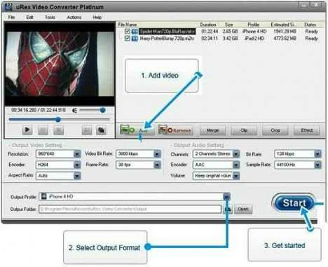 uRex Video Converter Platinum Direct Link Download