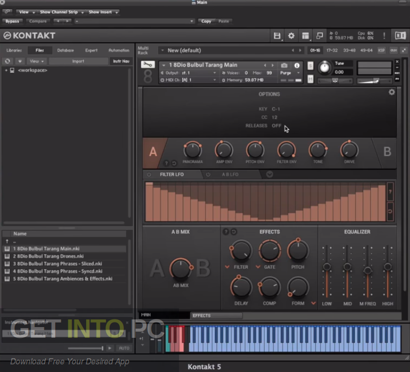 Orange Tree Samples - Pure Jazz Vibes (KONTAKT) Offline Installer Download