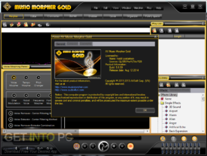 AV Music Morpher GOLD Latest Version Download-GetintoPC.com
