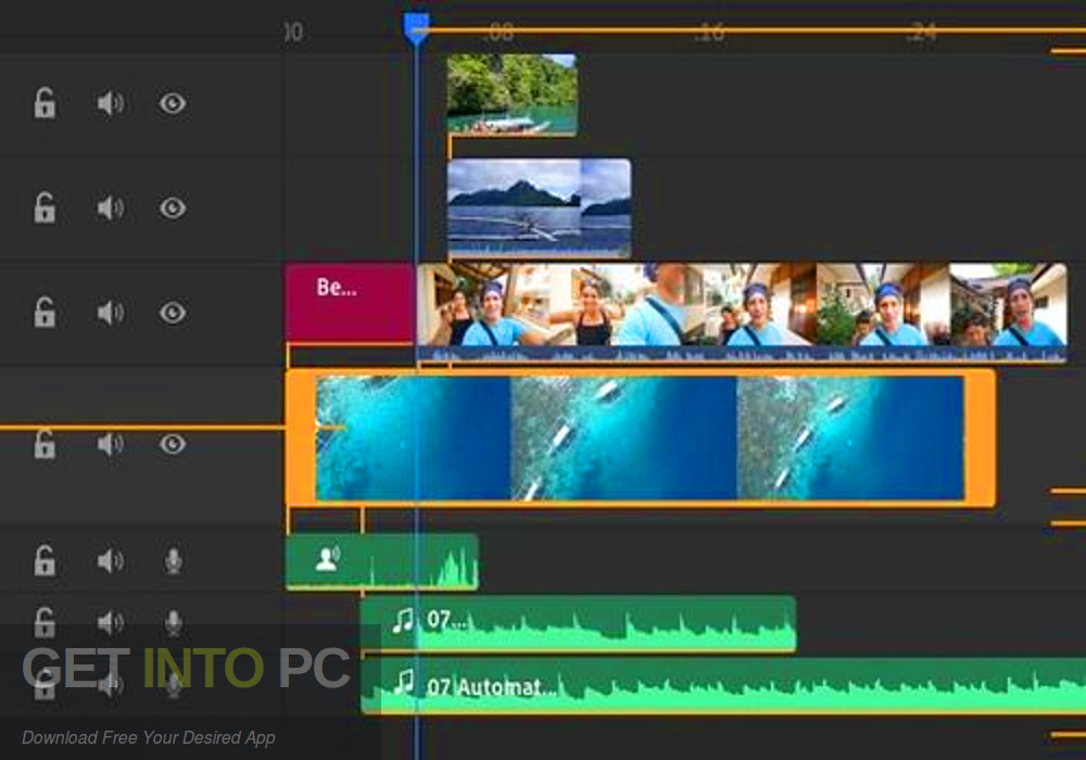 Adobe Premiere Rush CC 2020 Direct Link Download-GetintoPC.com