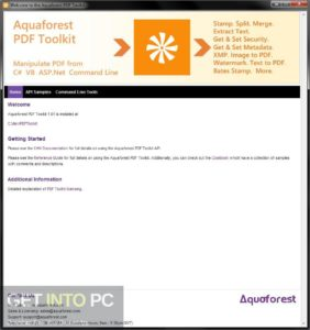 Aquaforest PDFToolKit Free Download-GetintoPC.com