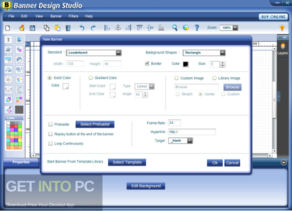 Banner Design Studio Offline Installer Download-GetintoPC.com