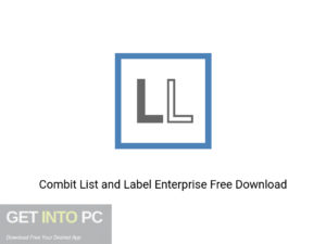 Combit List And Label Enterprise Offline Installer Download-GetintoPC.com