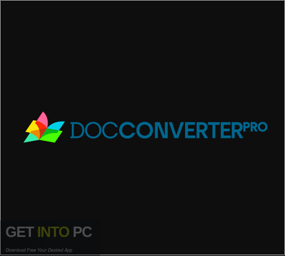 Doc Converter Pro Business Free Download