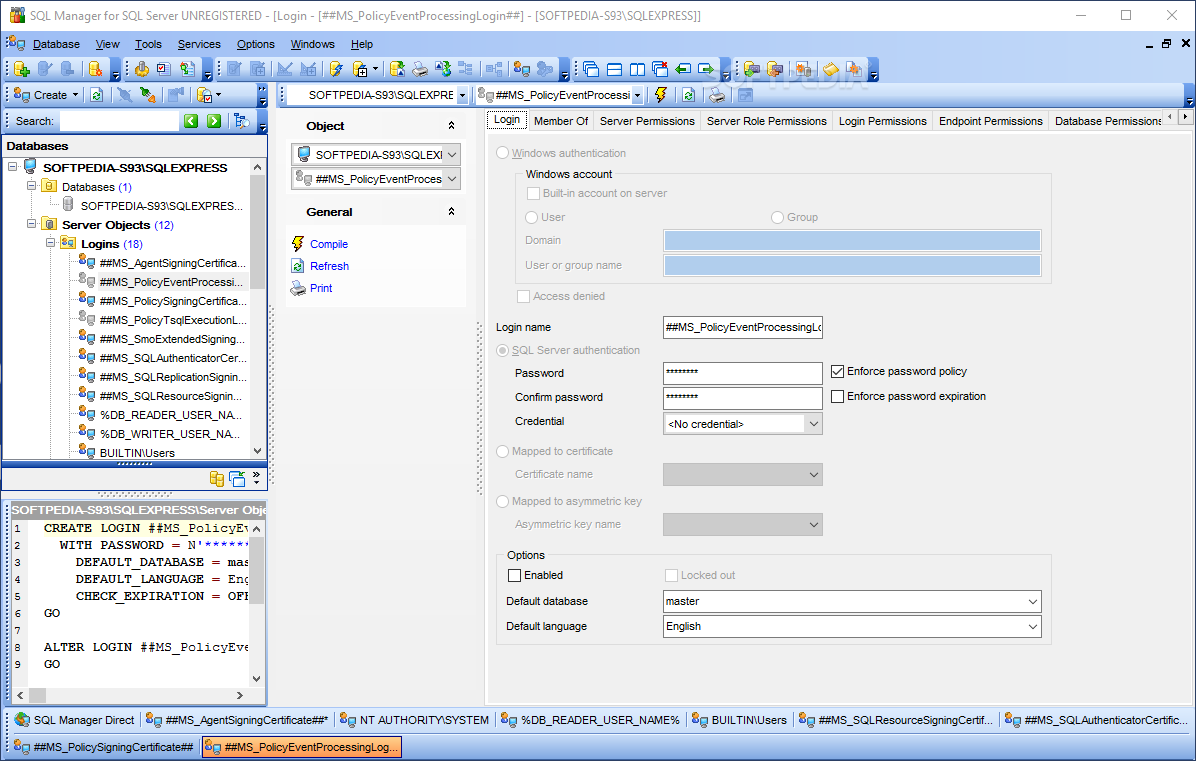 EMS SQL Manager for SQL Server Direct Link Download