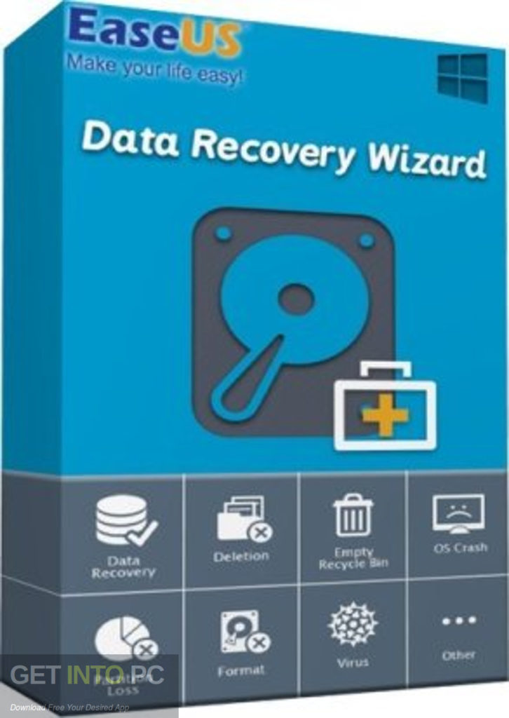 EaseUS Data Recovery Wizard Technician 2020 Free Download GetintoPC.com  scaled