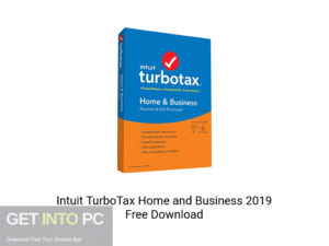 Intuit TurboTax Home And Business 2019 Offline Installer Download-GetintoPC.com