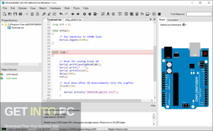 Programming IDE For Arduino Free Download-GetintoPC.com