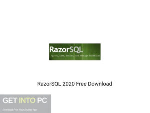 RazorSQL 2020 Offline Installer Download-GetintoPC.com