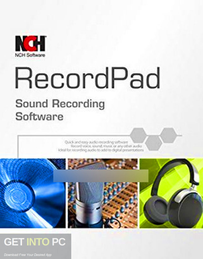 RecordPad Sound Recorder Free Download-GetintoPC.com