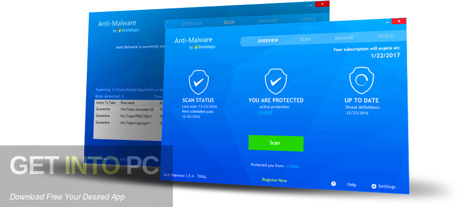 ShieldApps Anti Malware Pro Offline Installer Download-GetintoPC.com