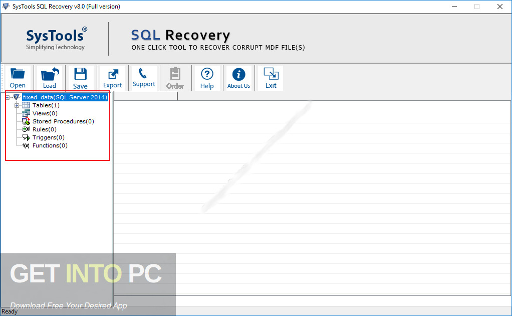 SysTools SQL Recovery 2020 Latest Version Download-GetintoPC.com