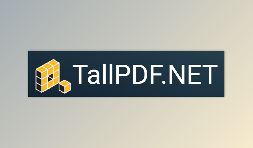 TallComponents PDF Collection for .NET 2019 Latest Version Download